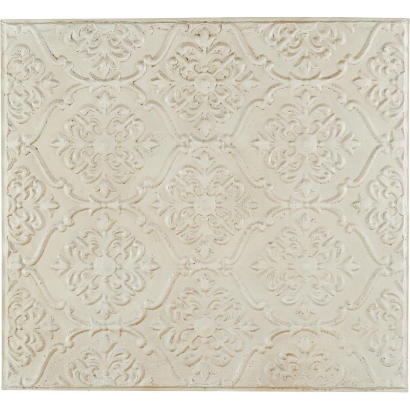 WALL PANEL METAL ANTIQUE WHITE 90 - WALL PANEL, FRAMES