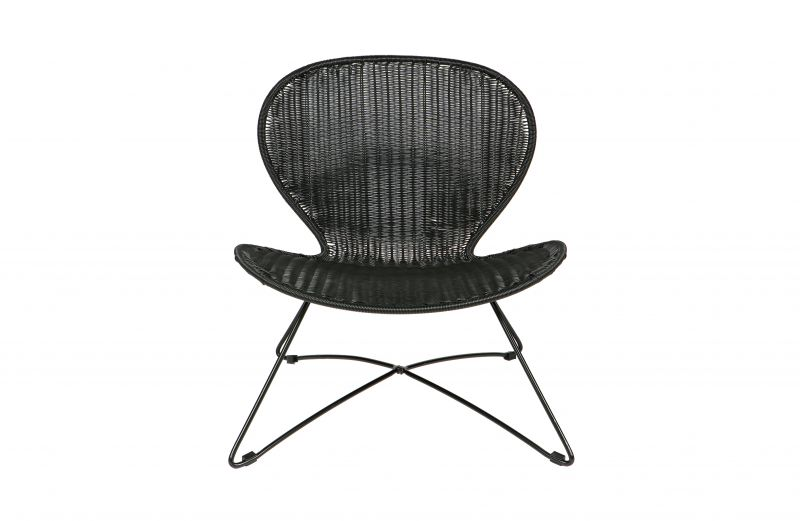 OLE ARMCHAIR BLACK    - CHAIRS, STOOLS