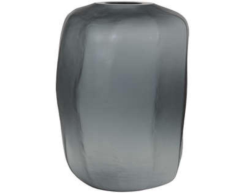 VASE PACENGO GLASS GREY      - POTS, VASES