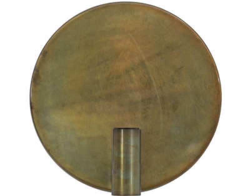 WALL LAMP DISC BRONZE   - WALL LAMPS