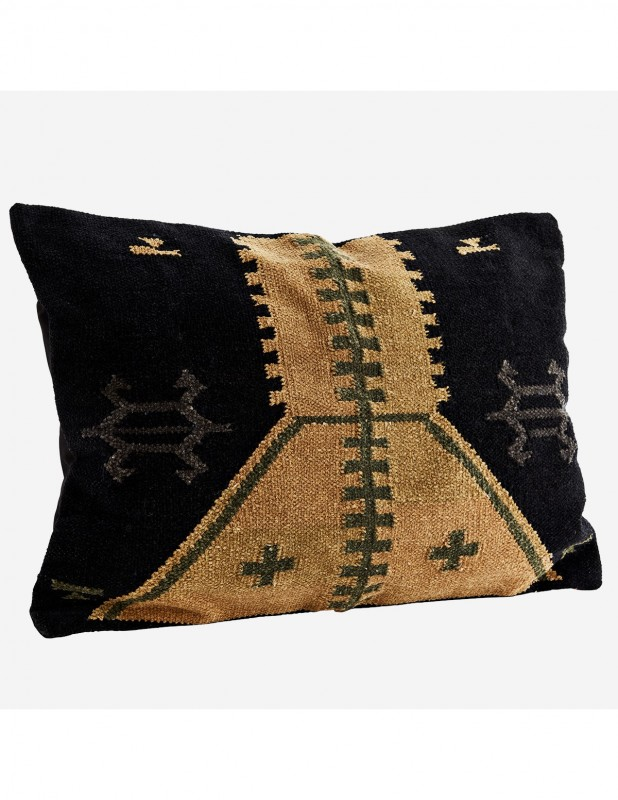 KILIM MUSTARD2 CUSHION COVER     - CUSHIONS