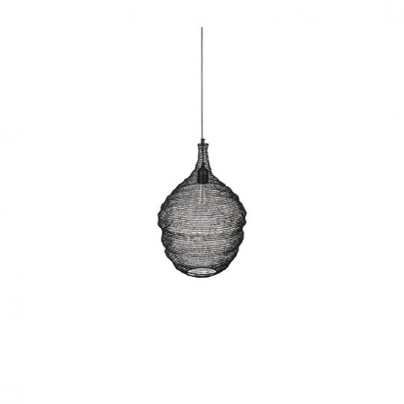 WIRE HANGING LAMP BLACK 70      - HANGING LAMPS