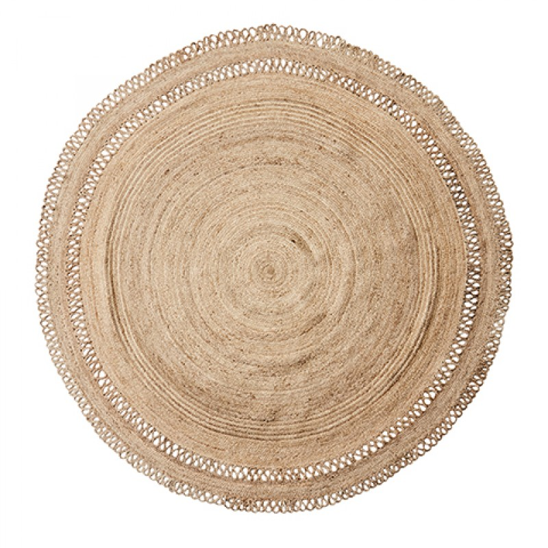 NATURAL JUTE RUG LACY 240