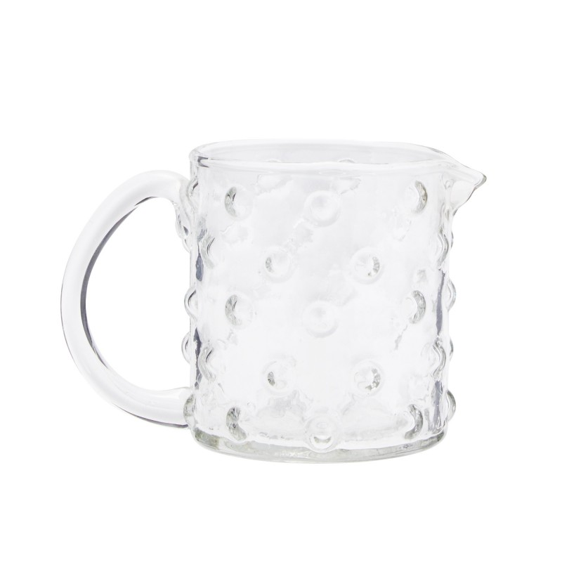JUG GLASS WITH DOTS