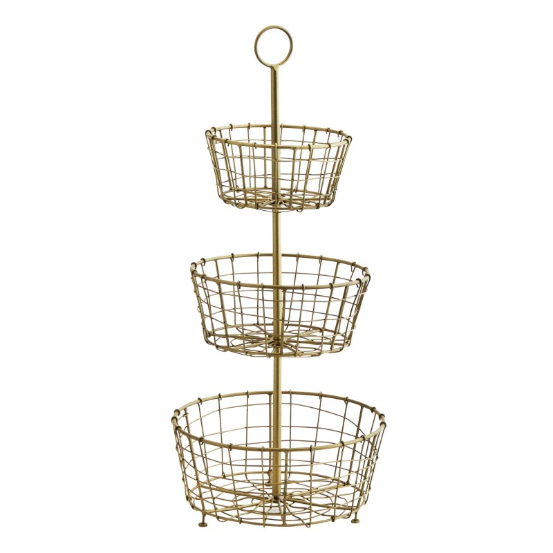 WIRE ETAGER WITH 3 BASKETS