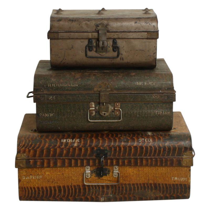 Metal Travel Box
