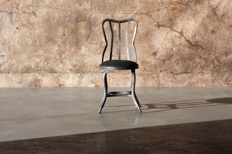 METAL CHAIR    - CHAIRS, STOOLS