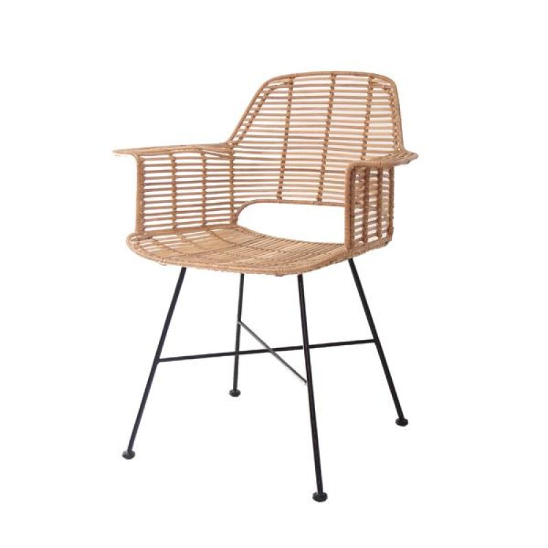rattan arm chair    - CHAIRS, STOOLS
