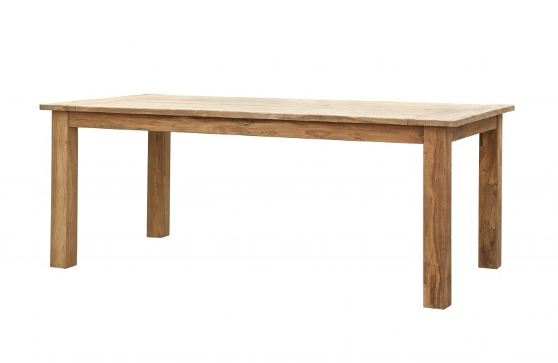 GOA NATUR TEAK DINING TABLE 3 SIZES       - DINING TABLES