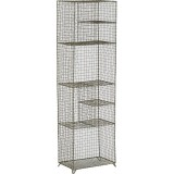 WIRE STANDING SHELF 125 - CABINETS, SHELVES