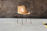 LEATHER CHAIR    - CHAIRS, STOOLS