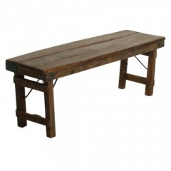 Goamama Folding Bench Brown
