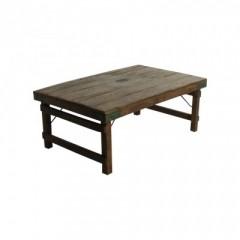 GOA MARKET FOLDING CAFE TABLE     - CAFE, SIDETABLES