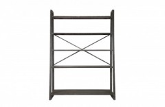 BLACK METAL RACK - CABINETS, SHELVES