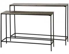 CONSOLE TABLE DARK BRONZE - CONSOLS, DESKS