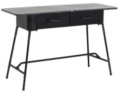 DESK CATARAMA ANTIQUE BLACK - CONSOLS, DESKS