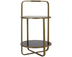 ETAGERE 2 LAYERS ASKER GOLD
