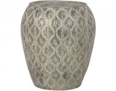 ANTIQUE GOLD BIG SIDETABLE WITH DEEP PATTERN