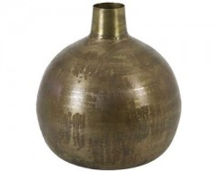 VASE DECO LABU ANTIQUE BRONZE      - POTS, VASES