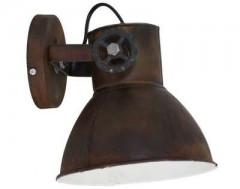 WALL LAMP RUST & VINTAGE & BRONZE
