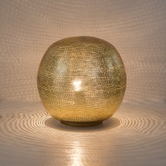 TABLELAMP HARI BALL MEDIUM GOLD