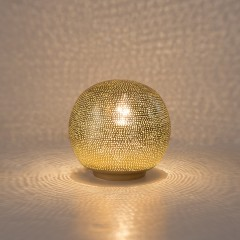 TABLE LAMP HARI BALL SMALL GOLD