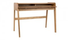 GMZV8WDESK TABLE ROLL TOPS SOLID ASH WOOD - CONSOLS, DESKS