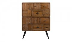CABINET LOVE SOLID WOOD ANTIQUE FINISH