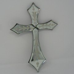 VENETIAN MIRROR CROSS MEDIUM1