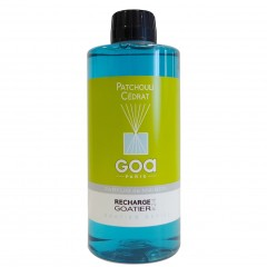 GOA HOME PARFUME RECHARGE LARGE PATCHOULI CEDRAT