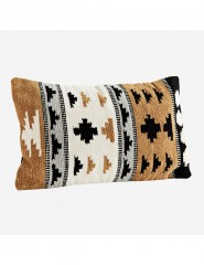 KILIM MUSTAR CUSHION COVER     - CUSHIONS