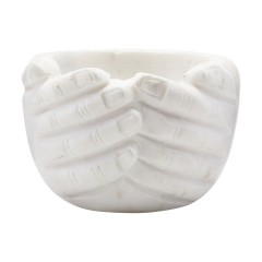 MAMA MARBLE BOWL HAND       - DECOR ITEMS