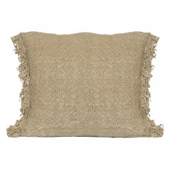 CUSHION COVER FRED LINEN     - CUSHIONS