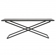 X SIDETABLE METAL BLACK XL     - CAFE, SIDETABLES