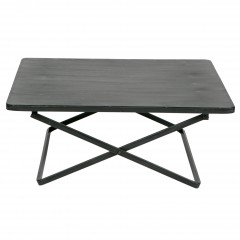 X SIDETABLE METAL BLACK     - CAFE, SIDETABLES
