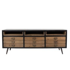 SIDEBOARD FOLDER 9 DRAWERS WITH 3 SHELVES