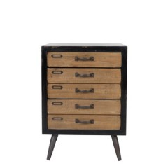 SIDECABINET FOLDER 5 DRAWERS 55
