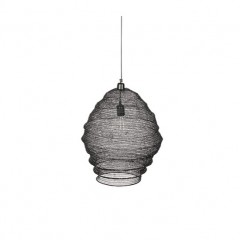 WIRE HANGING LAMP BLACK 60