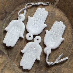 MARBLE HAND HAMSA       - DECOR ITEMS