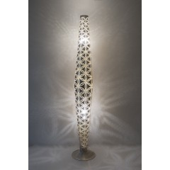 FLOOR LAMP WSD BRASS SILVER PLATED 180