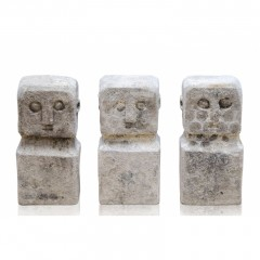 NATURAL STONE PRIMITIVE STATUE       - DECOR ITEMS