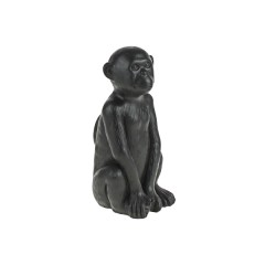 BLACK SITTING MONKEY CEMENT       - DECOR ITEMS