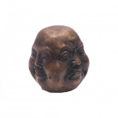 BUDDHA STATUE 4 FACES BRONZE       - DECOR ITEMS