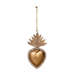 HANGING HEART BOX DECO       - DECOR ITEMS