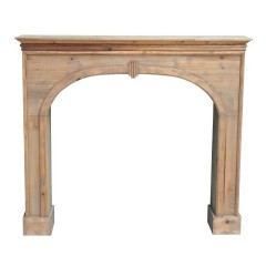 WOOD FIREPLACE - CONSOLS, DESKS