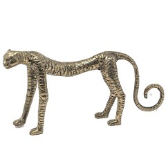 BRONZE CHEETAH GOLD COLORED
