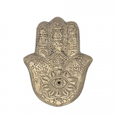 SMALL BRONZ HENNA INCENSE BURNER    - CANDLE HOLDERS