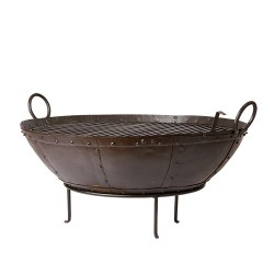 BARBEQUE FIRE PLACE IRON