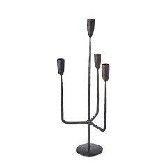 METAL CANDELHOLDER KING4
