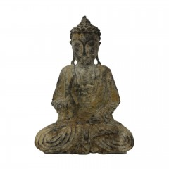 BUDDHA ANTIK LOOK WOOD SMALL